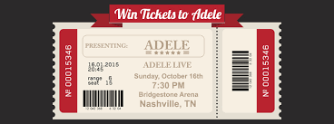 Bridgestone Arena Seating Chart Adele Win Tickets To Adele B97 5 Your Life Your Music Knoxville