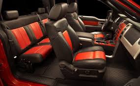 2010 ford raptor seats