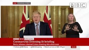 Coronavirus: Boris Johnson sets out