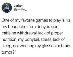 Headache Causes Tumblr