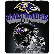 Baltimore Ravens Throw Blanket