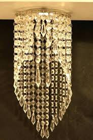 magnetic chandelier crystal pendant recessed light garbo clip on ceiling fixture by crystals hobby lobby ch chandelier crystals hobby lobby