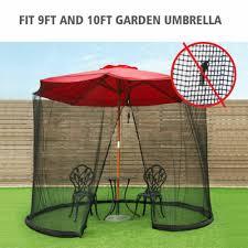 umbrella table screen cover mosquito