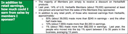 Income Testimonials At Herbalife Events Paint Unrealistic