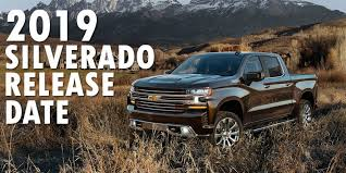 New 2019 Chevy Silverado Release Date | At Muzi Chevy serving Boston ...