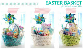easter basket gift ideas for your kids
