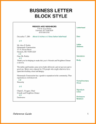 Block Style Letter How To Format A Cover Letter