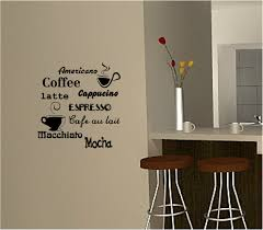 For Kitchen Wall Art Details About Coffee Wall Art Sticker Vinyl Quote Kitchen Cafe