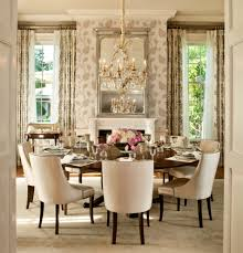 Dining Room Mediterranean With Round Dining Table Spanish Colonial - Table dining room