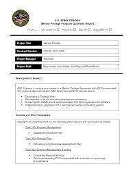 Formal Report Docstoc Documents Templates Biological