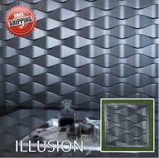 wall stone mold illusion 3d