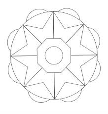 Immagini Di Mandala Da Colorare