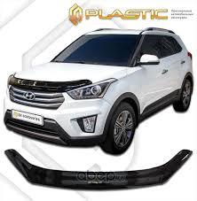 <b>CA plastic</b> 2010010112202 <b>Дефлектор капота</b> Hyundai Creta 2016 ...
