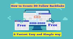 DoFollow Backlinks : 6 Best Free Ways To Create In 2019 (Fastest Grow)
