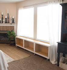 diy window seat. Fine Window Building A DIY Window Seat On Wheels And Diy I