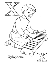 Small Picture children choir coloring page wecoloringpage x is for xylophone