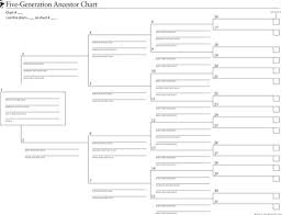 Download 5 Generation Family Tree Template For Free