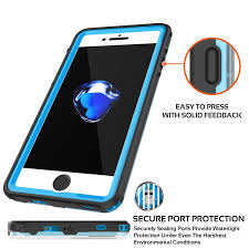 Crystal Light Case Apple Iphone 8 Waterproof Case Punkcase Crystal Light Blue