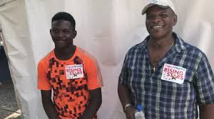 Digicel - Father and son! So Iva Jones flew down to... | Facebook