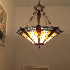 tiffany style pendant light. CHLOE Lighting SIRIUS Tiffany-style Goemetirc 3 Light Inverted Ceiling Pendant Tiffany Style Y