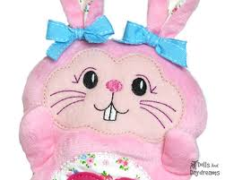 Dolls And Daydreams Embroidery Designs Machine Embroidery Bunny Face Dolls And Daydreams