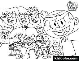 Loud House Coloring Pages Printable Learn How To Draw Lily From The