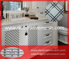 cabinet door mesh screen grilles