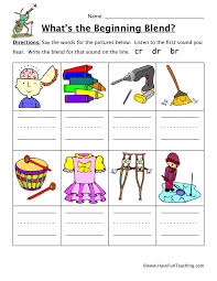 Free interactive exercises to practice online or download as pdf to print. Beginning Sounds Cr Dr Br Worksheet Have Fun Teaching