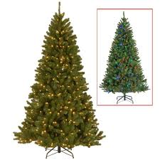 National Tree Company 7.5 ft. North Valley Spruce Artificial Christmas Tree  with 500 9-