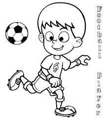 Football Colouring Pages To Print Soccer Coloring Pages To Print