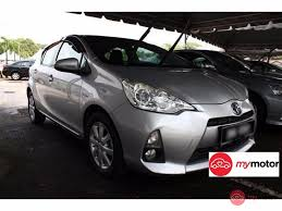 2012 Toyota Prius c for sale in Malaysia for RM60,800 | MyMotor