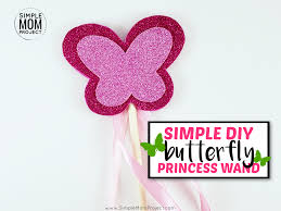 learn how to make an awesome diy erfly fairy wand for your little