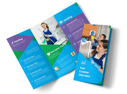 Cleaning Brochure Commercial Cleaning Brochure Template Mycreativeshop