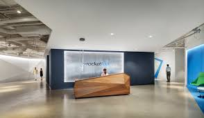 office lobby designs. Office Tour: Rocket Fuel \u2013 Chicago Offices Lobby Designs