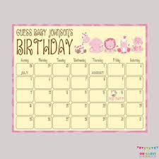 Pink Safari Baby Shower Birthday From Ohbabyshower On Etsy