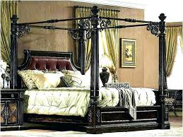 modern four poster bed king.  Four King Size 4 Poster Bed Frame Four Post Ideal   Modern  To Modern Four Poster Bed King