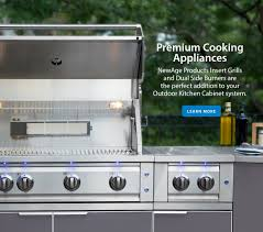 Aluminum Outdoor Kitchen Cabinets Kits Newage Products Us