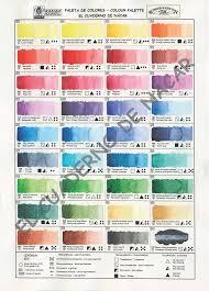 Watercolor Color Chart Watercolor Palette Watercolor Digital Download Color Wheel Color Palette Color Scheme Color Chart Colour Wheel Color Scale Download