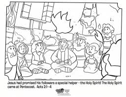 Small Picture Holy Spirit Coloring Pages intended to Invigorate to color page