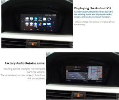 BMW E70 X5 CCC GPS Nav Android Google Retrofit type touch ...