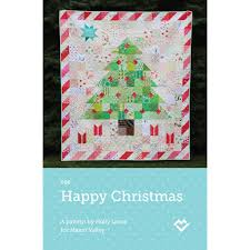 Christmas Quilt Patterns Enchanting Happy Christmas Quilt Pattern Downloadable PDF Stately Type