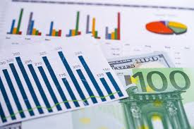 Investment Charts And Graphs Charts Graphs Spreadsheet Paper Financial Development