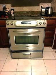 kitchenaid countertop stove kitchenaid countertop stove parts