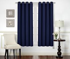 com utopia bedding blackout room darkening and thermal insulating window curtains panels ds 2 panels set 8 grommets per panel 2 tie