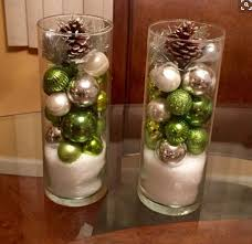 christmas centerpieces for round tables. Christmas Ornament Hurricane Table Top Decoration...this Would Be Pretty Year Round With Centerpieces For Tables