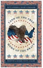 Land of the Free Quilt Kit | Keepsake Quilting &  Adamdwight.com