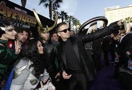 супергерои слились со своими фанами в лос анджелесе состоялась