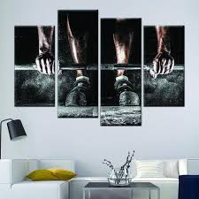 deadlift 4 piece wall canvas art on 4 piece wall artwork with deadlift 4 piece wall canvas art vigor and whim