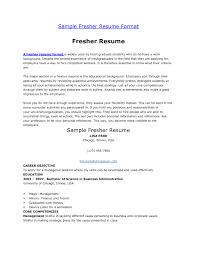 Agreeable It Fresher Resume Sample Doc Also 28 Resume Format For