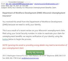 For flood claims, fill out a flood loss claim report online. Don T Be A Victim Avoid Unemployment Scams Wisconsin Unemployment Insurance